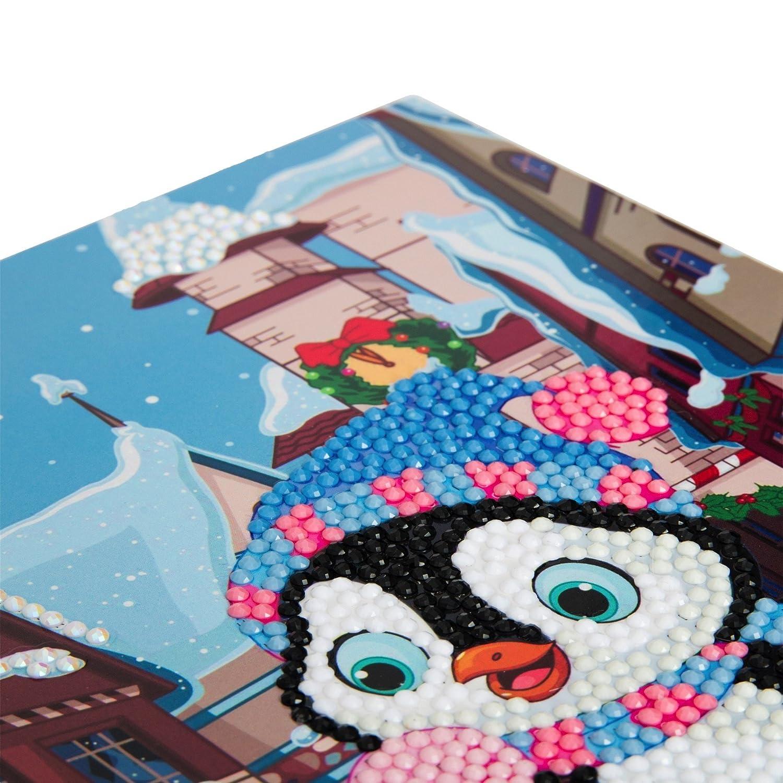 Craft Buddy Crystal Card Making Kit 5D Diamond Painting Greeting Cards A1 Happy Birthday Ltd Christmas Supplies