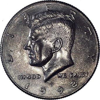 circulated 20 coins 1998 D Kennedy Half Dollar Roll