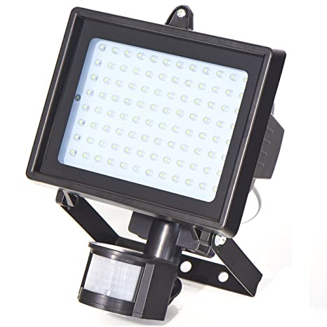 Foco LED Northpoint con detector de movimiento 8 W foco reflector iluminación de garajes faro exterior