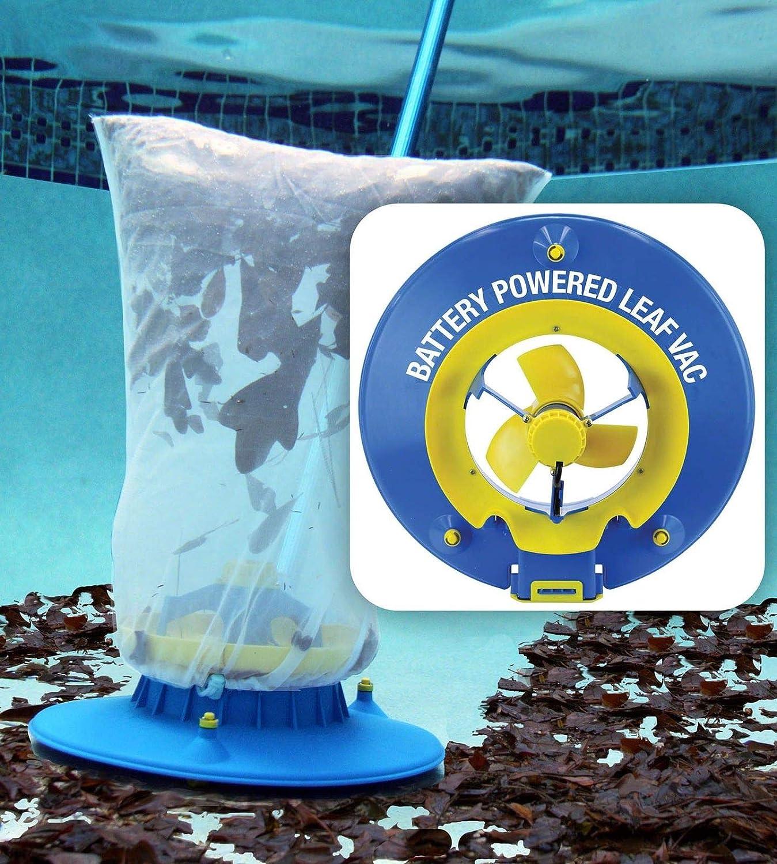 Water Tech Battery Powered Hoseless Swimming Pool Leaf Vacuum