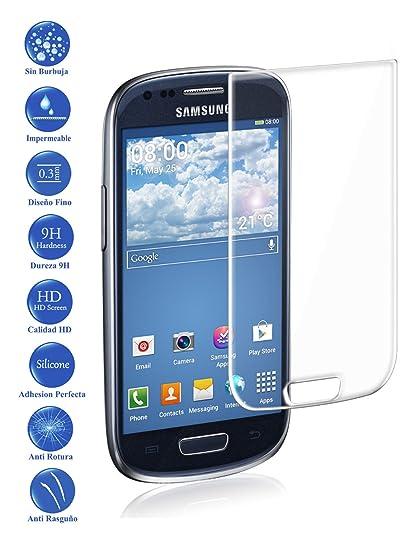 2ffc8d395a5 Protector de Pantalla Cristal Templado Vidrio 9H para movil Galaxy S3 Mini