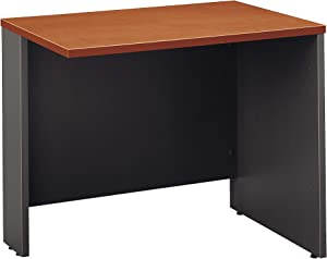 Bush Business Furniture Series C Collection 36W Return Bridge in Auburn Maple