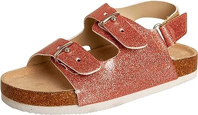 bebe Toddler Girls Cork Footbed Sandals