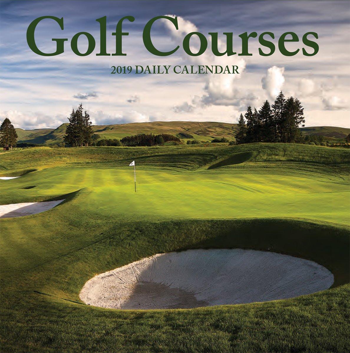 Turner Photo Golf Courses 2019 Photo Daily Boxed (199989700030 Desk Calendar (19998970003)