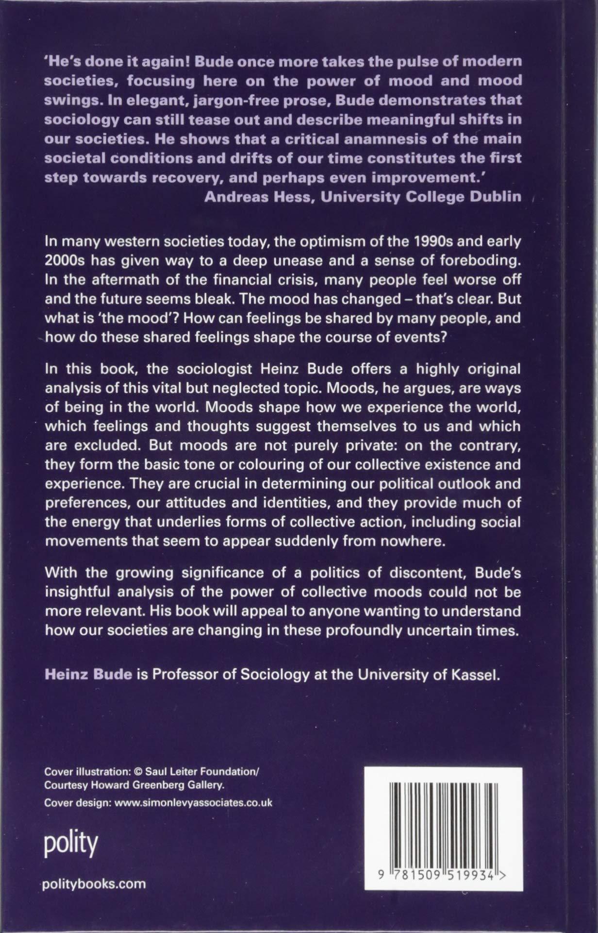 The Mood Of World Amazoncouk Heinz Bude 9781509519934 Books