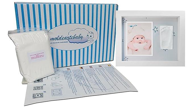 Marco de Fotos para Bebé - 3D Marco de Huellas para Niños ...