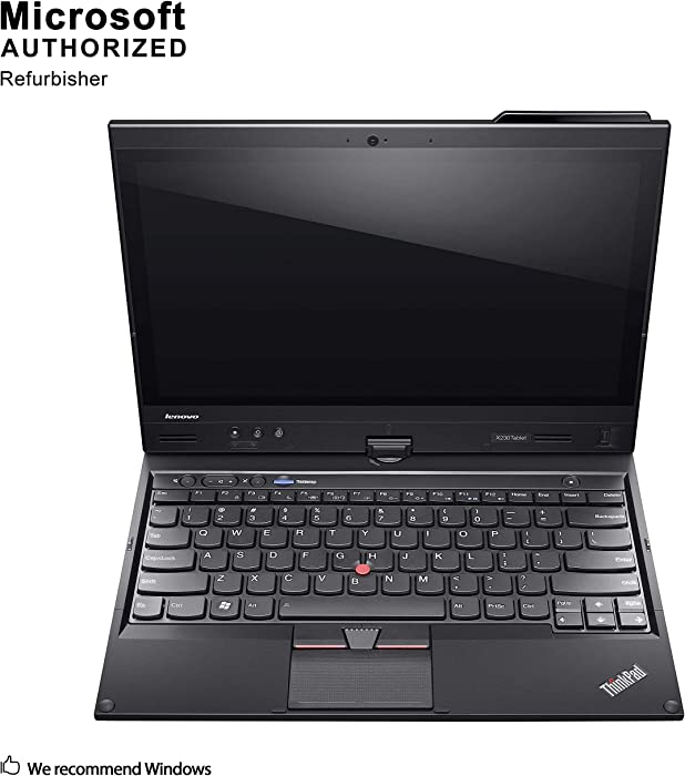 Lenovo ThinkPad X230t 12.5 Inch Convertible Laptop, Intel Core i5 3320M up to 3.3GHz, 4G DDR3, 500G, WiFi, VGA, mDP, Windows 10 64 Bit Multi-Language Supports English/French/Spanish(Renewed)