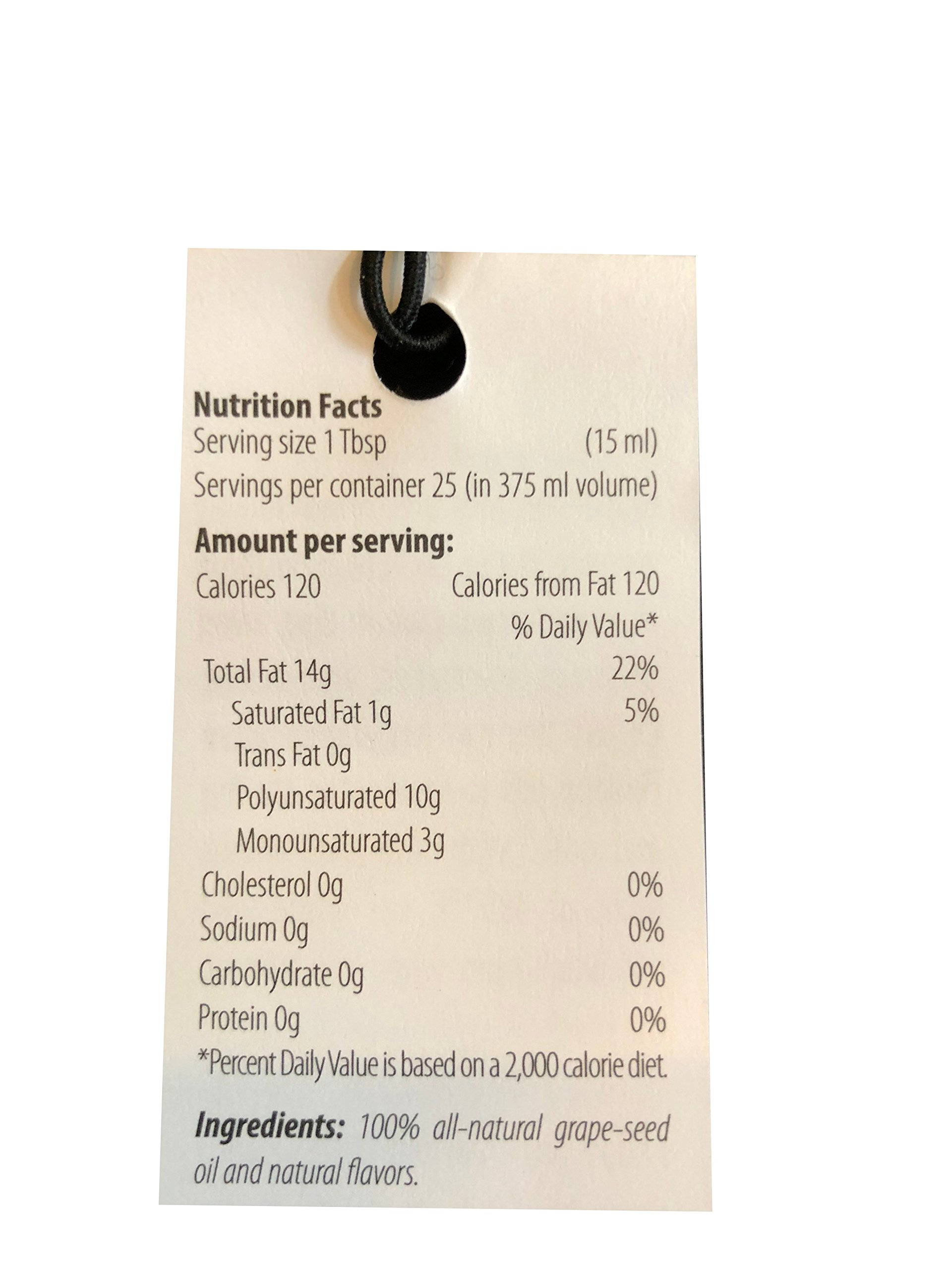 Apres Vin Chardonnay Fumé Grape Seed Oil - 375ml - 2 Pack by Apres Vin (Image #1)