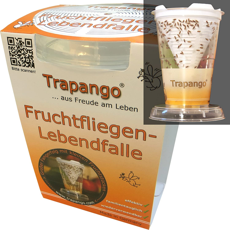 Fruchtfliegen Lebendfalle Trapango Amazon De Drogerie Korperpflege