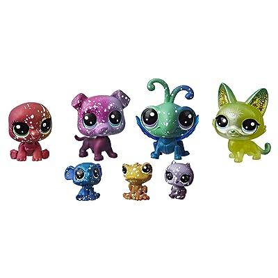 Littlest Pet Shop Cosmic Pounce Friends: Toys & Games