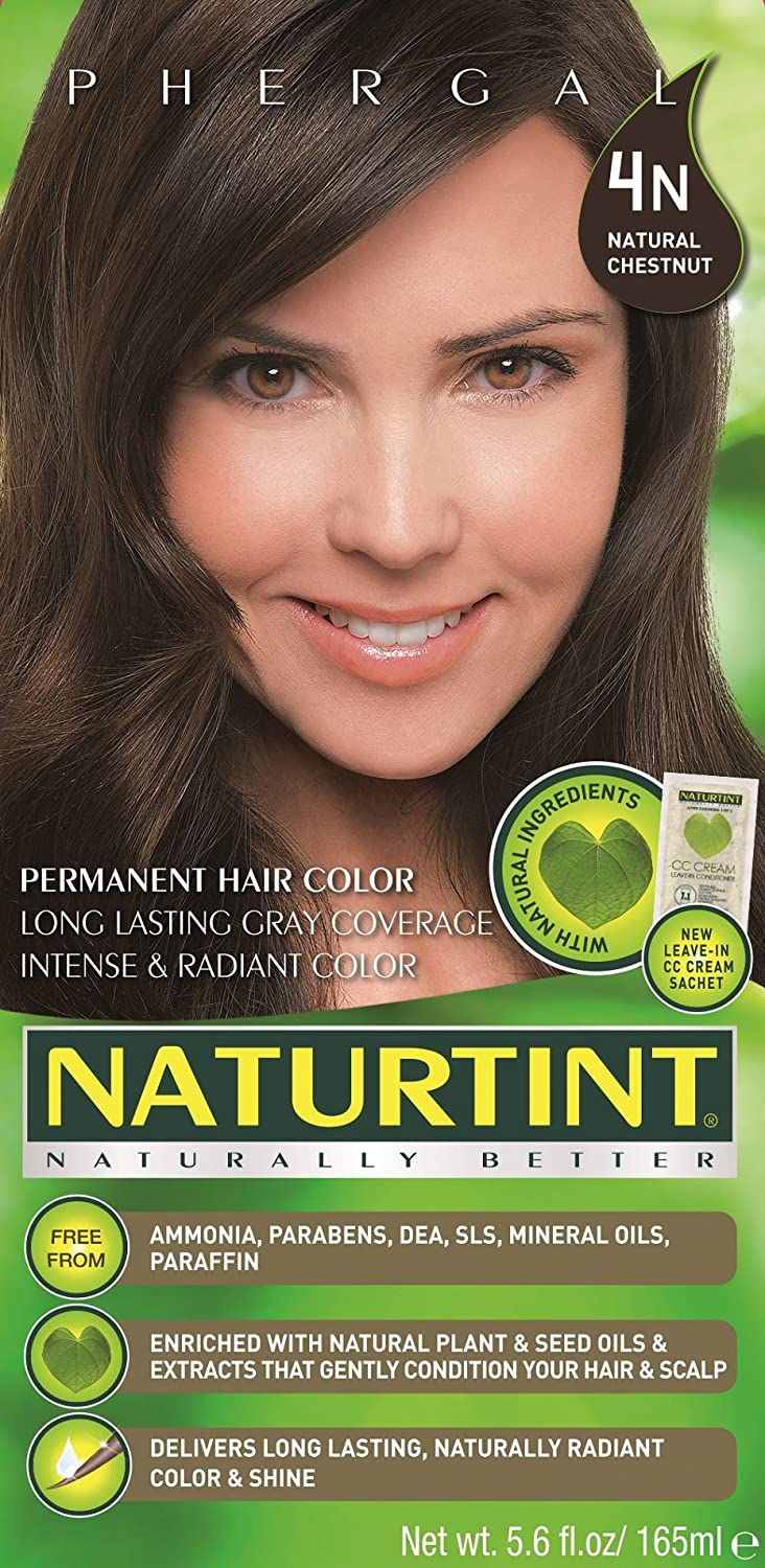 Amazon.com : Naturtint Permanent Hair Color - 4N Natural Chestnut ...