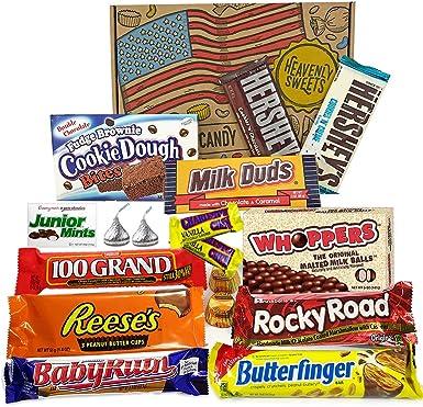 Caja de Chocolate Americano | Surtido de 17 artículos incluido ...