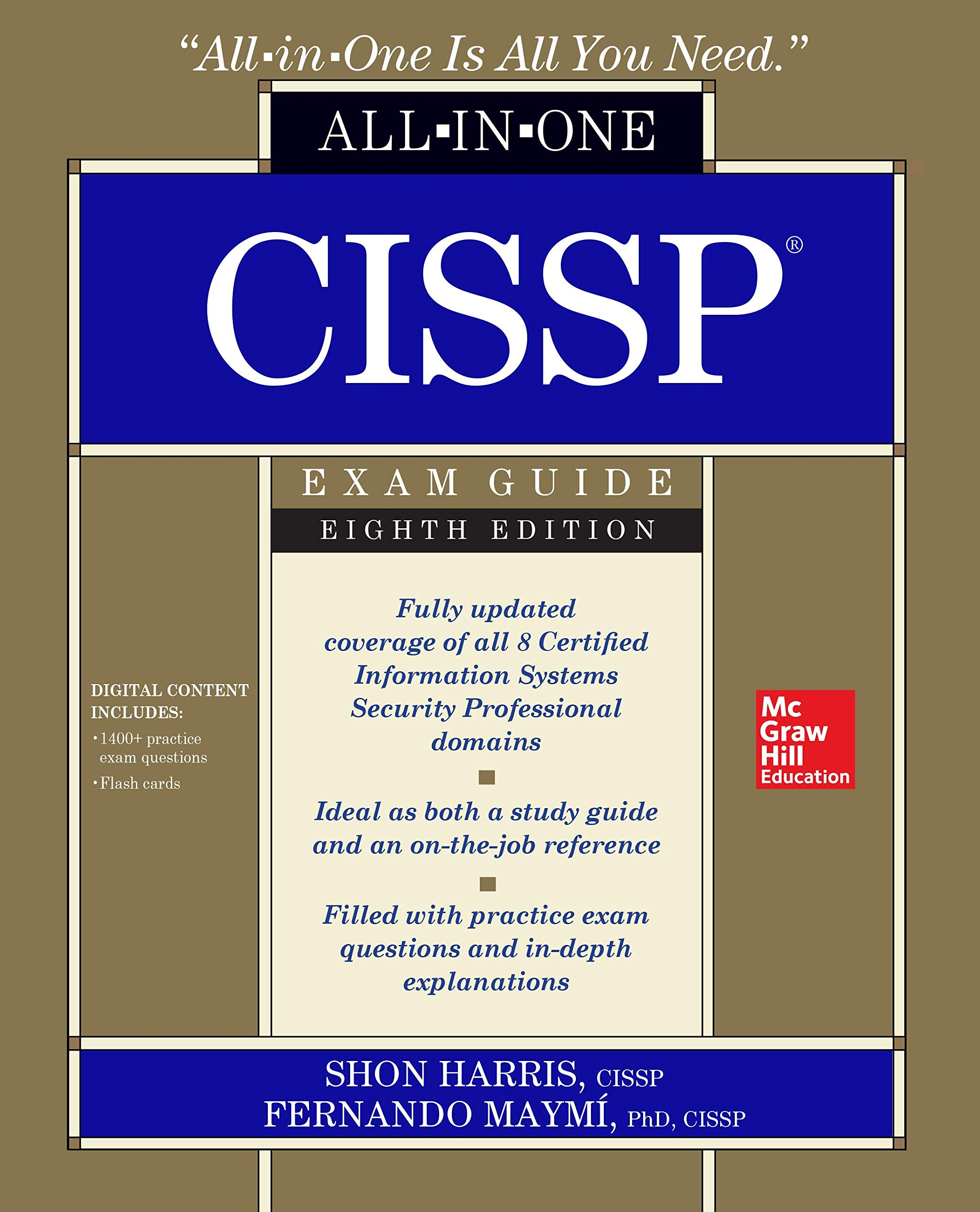 Buy CISSP All-in-One Exam Guide, Eighth Edition Book Online