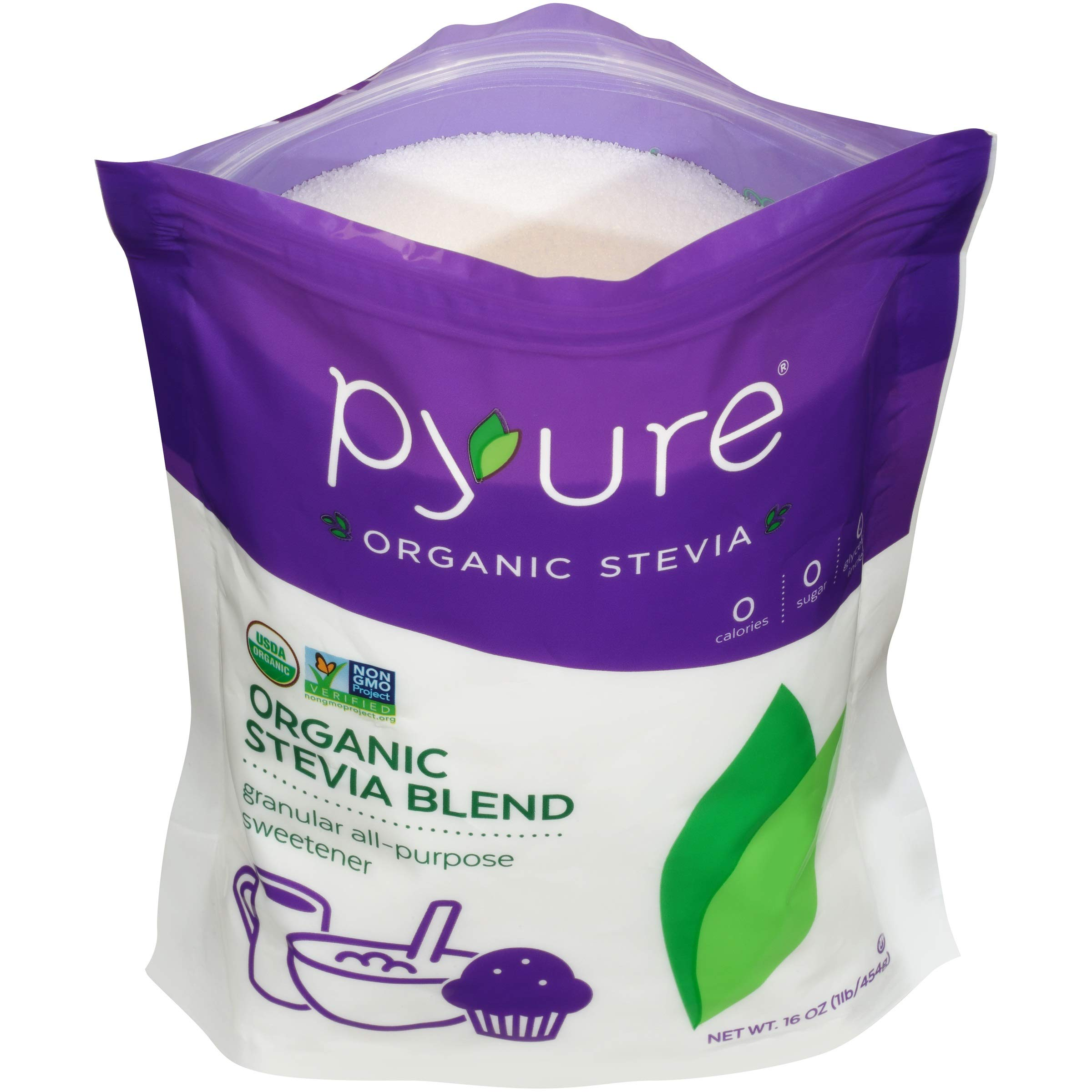Pyure Organic All-Purpose Blend Stevia Sweetener, 1 lb (16 oz) by Pyure (Image #6)
