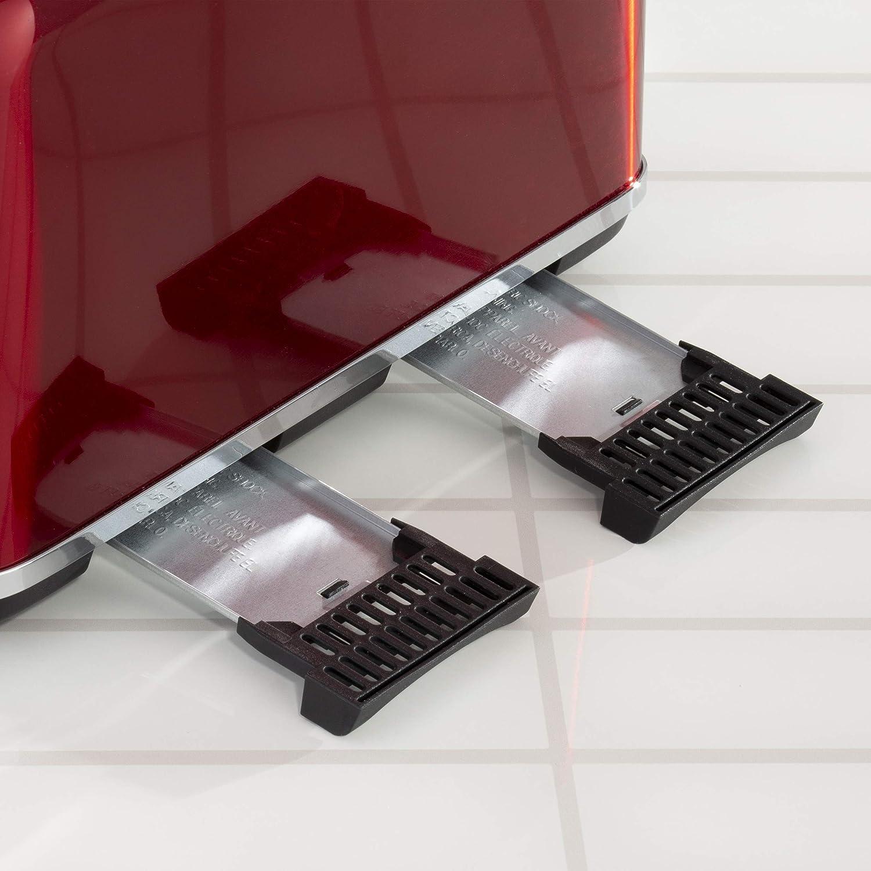 Daewoo SDA1584, Red 2 Slice Toaster Red 4 Slice Toaster