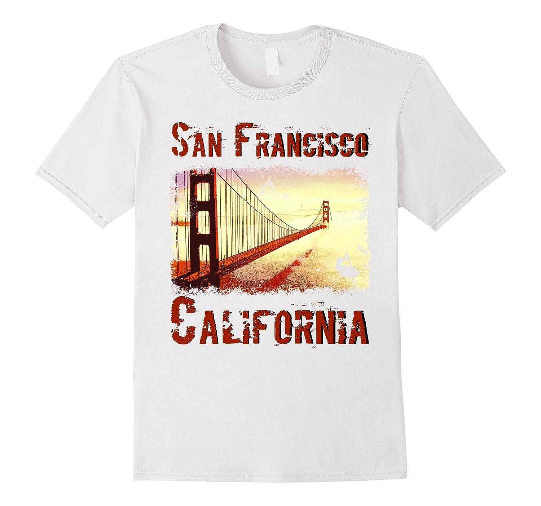 San Francisco Golden Gate Bridge T Shirt-Vaci