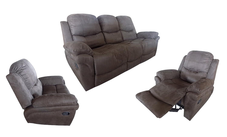 Marca nuevo lujo sillón reclinable sofá suite/cejas ante ...