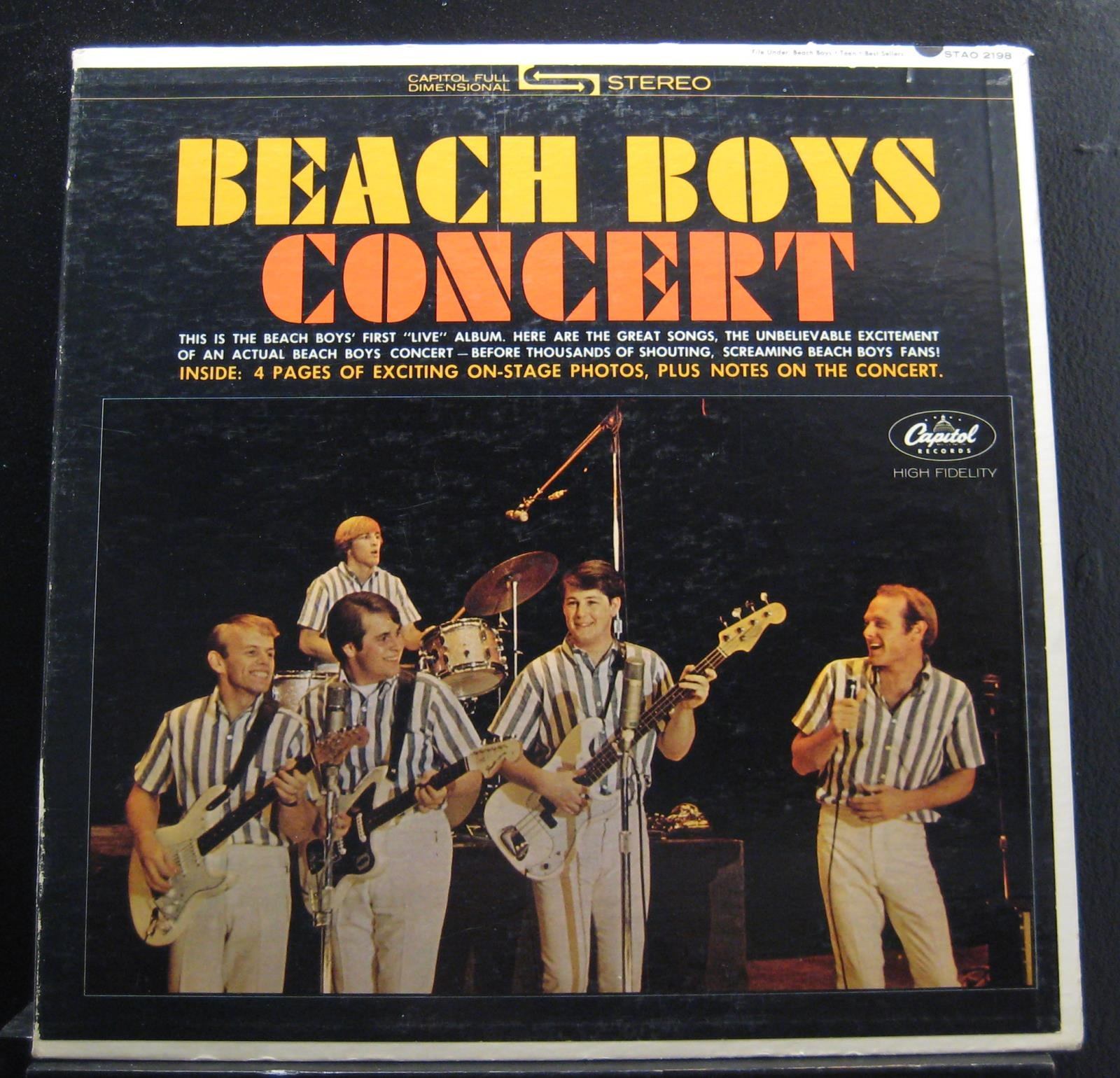 Beach Boys Concert by Capitol Records