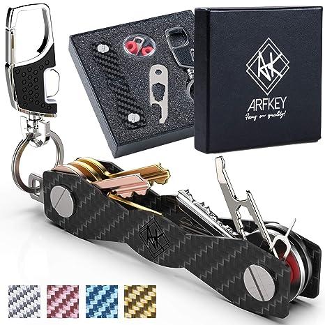 3d4cd82625 Smart Key Holder Key organizer| Compact Key Holder organizer- in fibra di  carbonio +