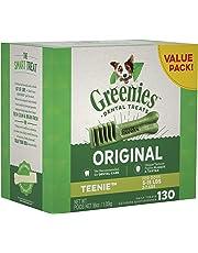 Greenies Dog Dental Chews Dog Treats - Teenie Size (5-15 lb Dogs)