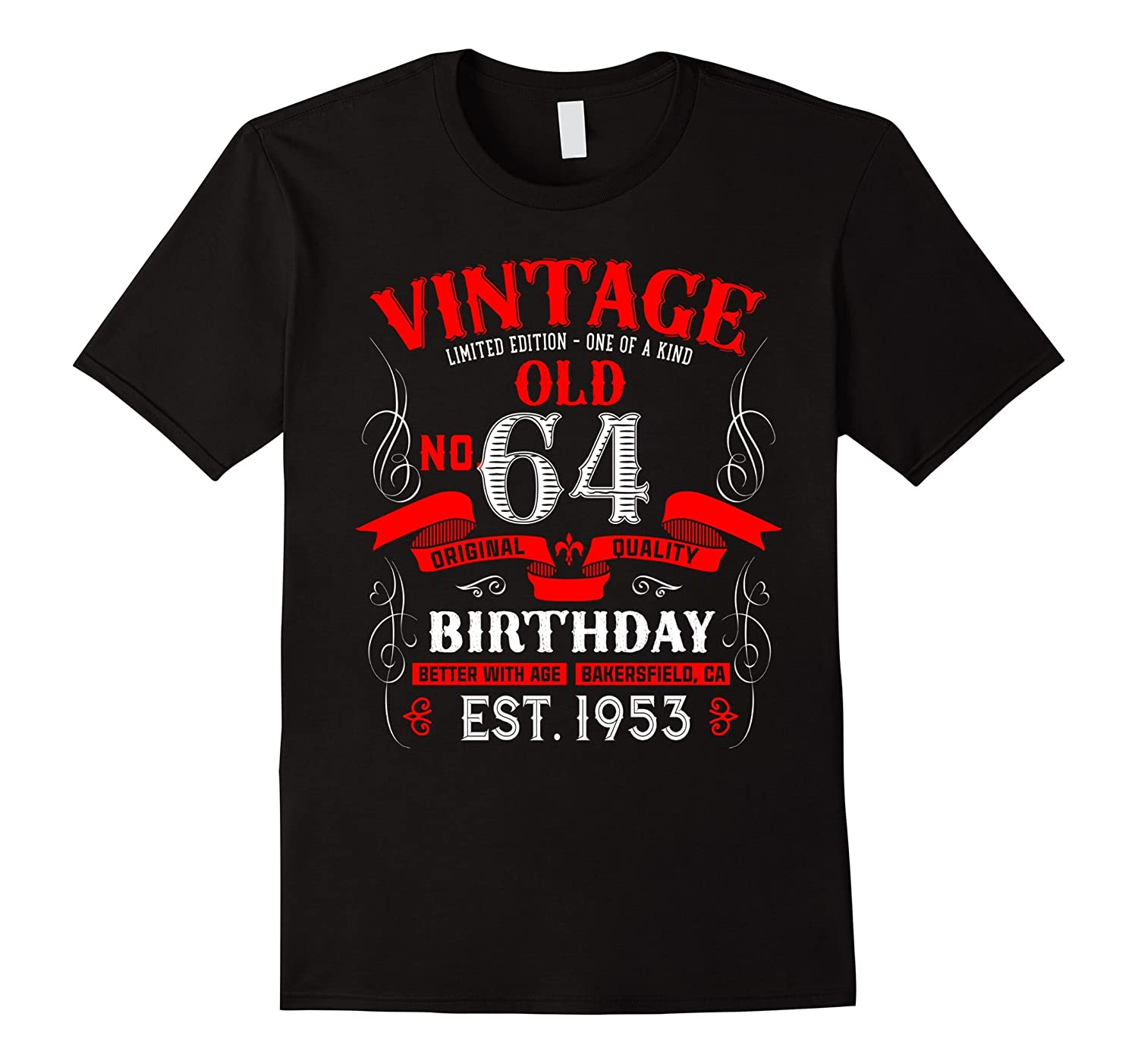 Legends Are Born In 1953 Vintage Better With Age 64 Yrs Old-PL