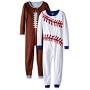 The Children's Place Baby Boys' Blanket Sleepers, Pack of 2, Sports 77987, 0-3 Months