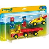 PLAYMOBIL 6761 - 1.2.3 - Rennauto mit Transporter