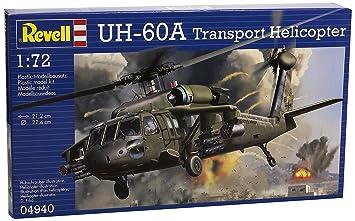 Revell - Maqueta UH-60A helicóptero, Escala 1:72 (04940 ...