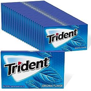 Trident Flavor Sugar Free Gum 336 Total Pieces