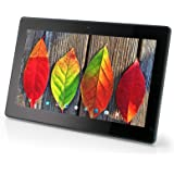 Xoro MegaPAD 1403 V2 35,56 cm (14 Zoll) Tablet-PC (QuadCore Actions S500 1.2GHz, 1GB RAM, 16GB Flashspeicher, IPS 1920x1080, WLAN (2.4GHz), Bluetooth 4.0, Android 5.1, 12V DC ohne Akku) schwarz