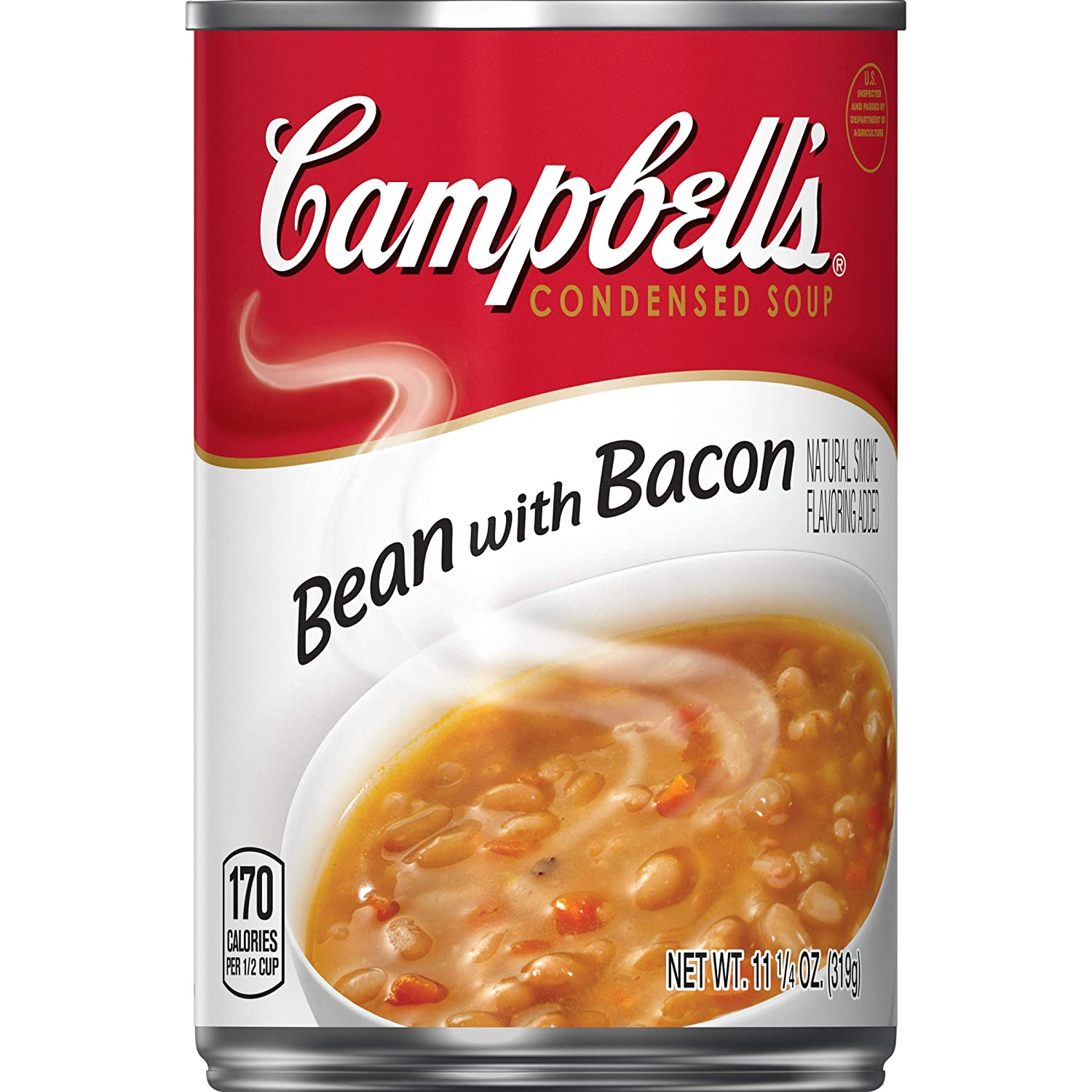 Campbell's Condensed Bean with Bacon Soup, 11.25 Ounce