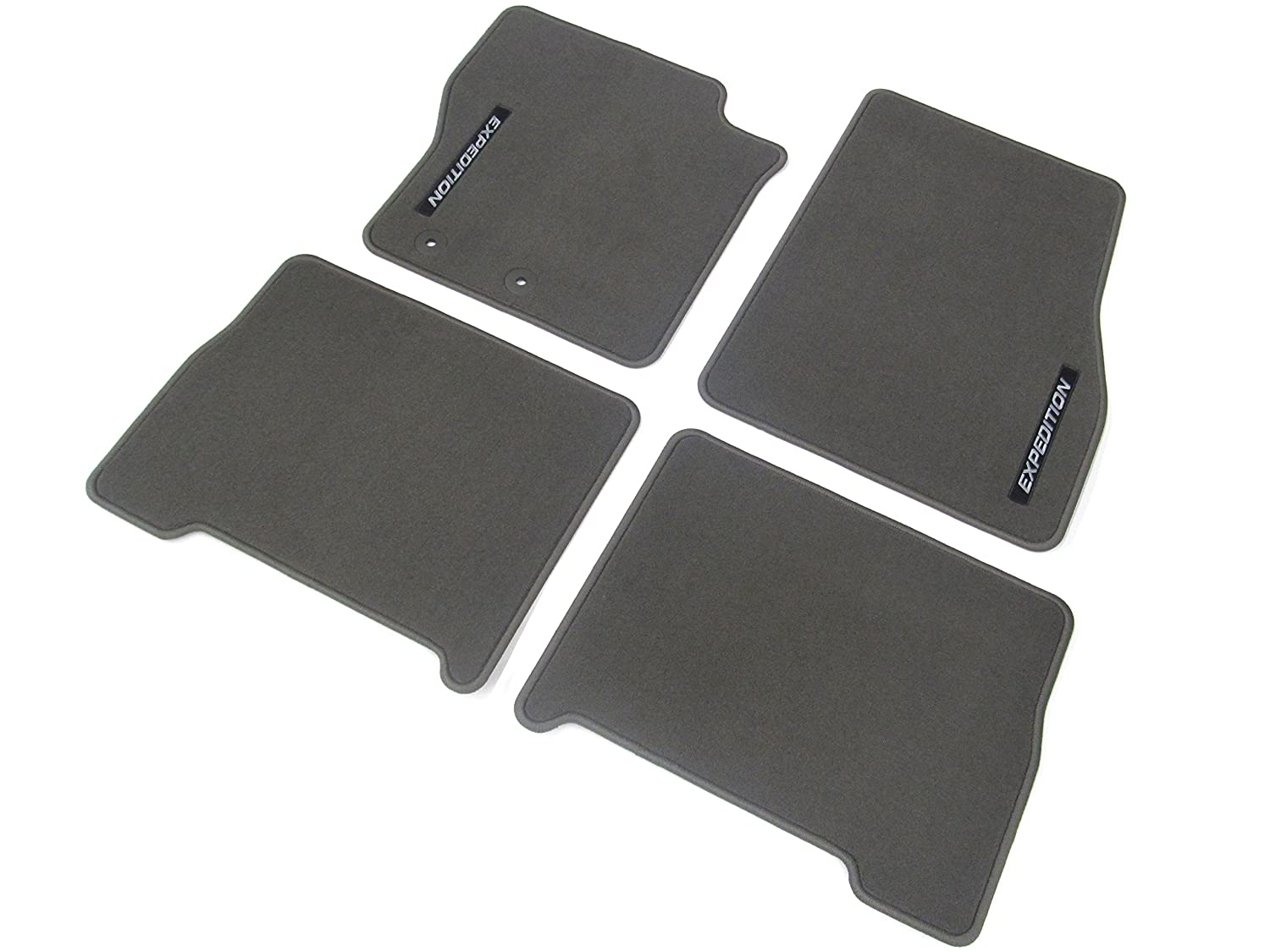 Rubber floor mats expedition - Amazon Com Ford Expedition Floor Mats Carpeted 4 Piece Greystone Front And Rear Automotive