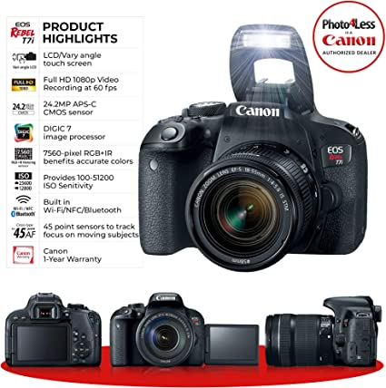 PHOTO4LESS Canon EOS Rebel T7i product image 8