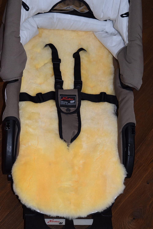 tama/ño universal para carrito luz c/álida medizinsches de cordero aut/éntica Baby/ ASAN de de para cochecito Natural de aut/éntica piel de cordero aprox Buggy etc. /Pelo de Cordero 74/x 35/cm 9/