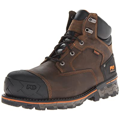 """Timberland PRO Men's Boondock 6"""" Waterproof Non-Insulated Work Boot 