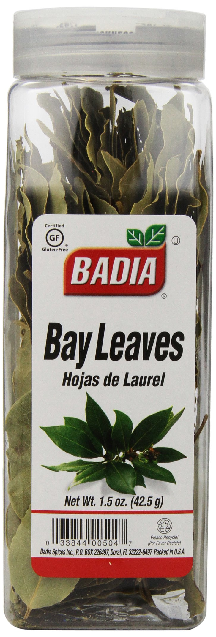 Badia Bay Leaves Whole, 1.5-Ounce (Pack of 6)