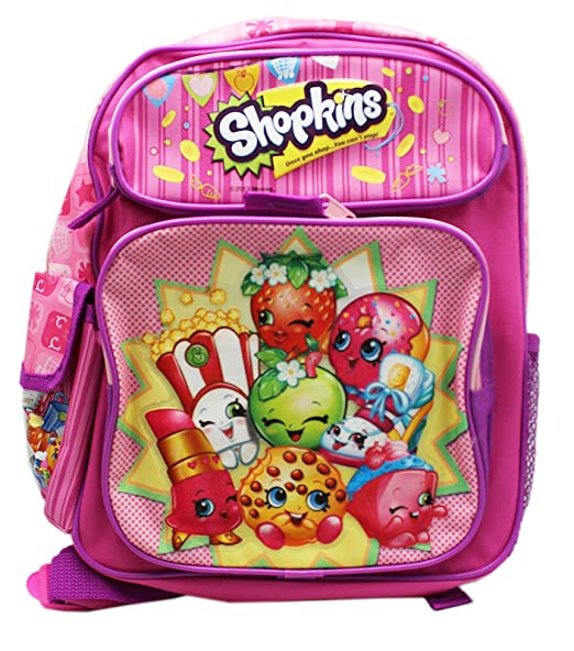 Amazon.com: Shopkins School Backpack Medium