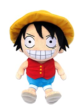 One Piece Luffy - Peluche Figura (25cm) - original & licensed Manga Anime Ruffy