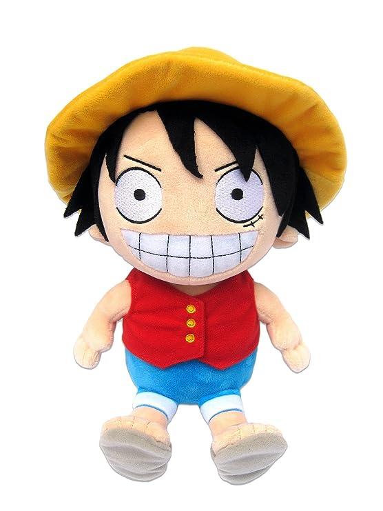 One Piece Luffy - Peluche Figura (25cm) - original   licensed Manga Anime  Ruffy Peluche  Amazon.es  Juguetes y juegos e6a85e06cd2
