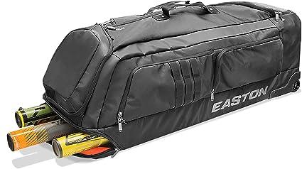 6f5dd5b7f1dd Amazon.com   Easton Pro x Baseball Wheeled Bag Black   Sports   Outdoors