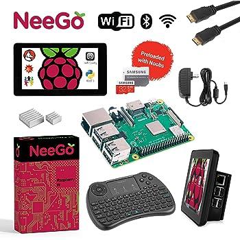 Amazon.com: Raspberry Pi 3 B+ (B Plus) Ultimate Kit