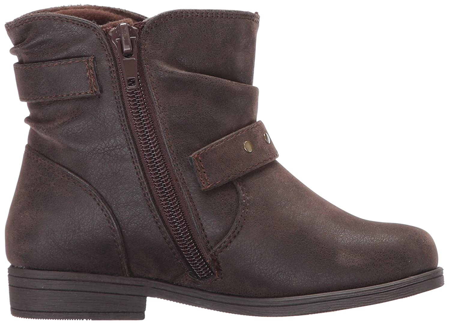 Rachel Shoes Girls Lil Princeton Ankle Boot 7 M US Toddler Brown