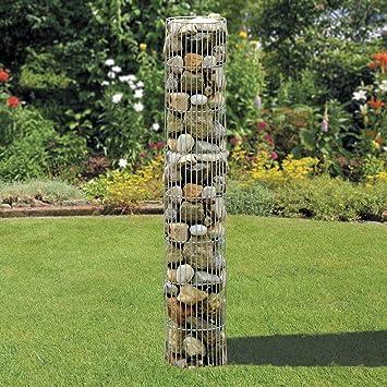 Runde Gabione 100cm hoch x 100cm im Durchmesser