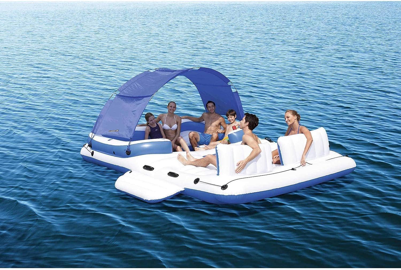 Amazon.com: CoolerZ Tropical Breeze hinchable de isla ...