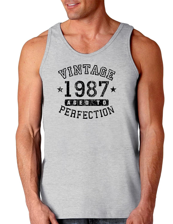 TooLoud 1987 Vintage Birth Year Loose Tank Top Brand