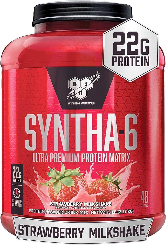 BSN SYNTHA-6 Whey Protein Powder, Micellar Casein, Milk Protein Isolate