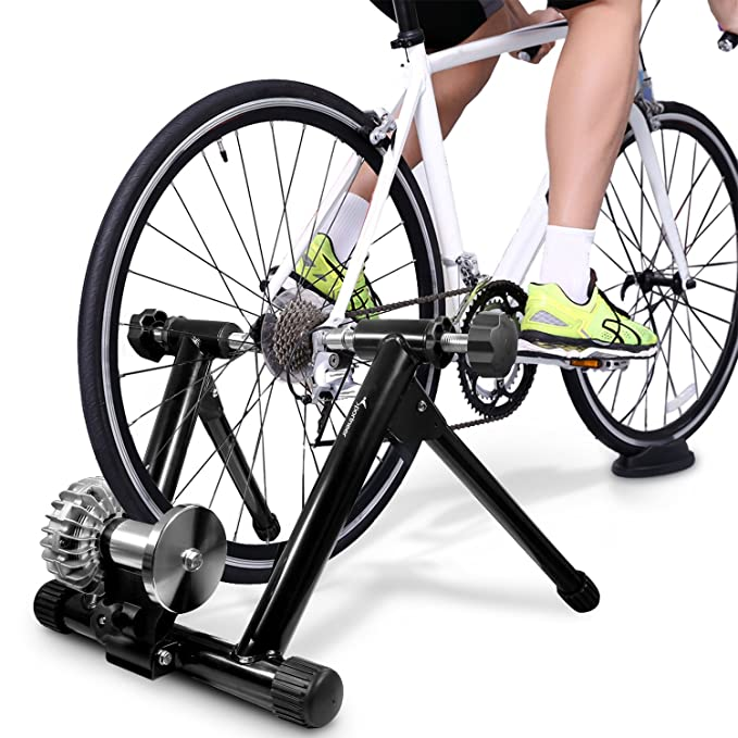 75cefb4ea38 Amazon.com : Sportneer Fluid Bike Trainer Stand, Indoor Bicycle Exercise  Training Stand : Sports & Outdoors