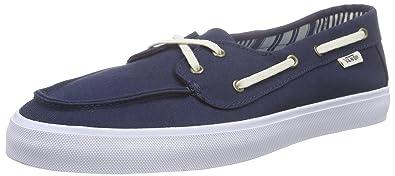 Vans Chauffette SF, Damen Sneakers, Blau (Multi Stripe/Dress Blues), 39 EU