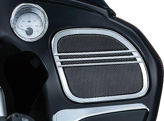 Amazon.com: Kuryakyn tri-line Rejas de altavoz para Harley ...