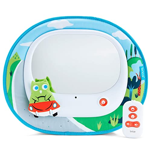 Brica Cruisin' Baby In-Sight Car Mirror, Owl